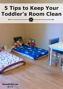 5 Tips to Keep Your Toddler's Room Clean
