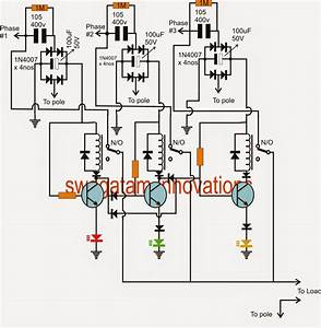 Extracting Single Phase Voltage From Three Phase Voltage