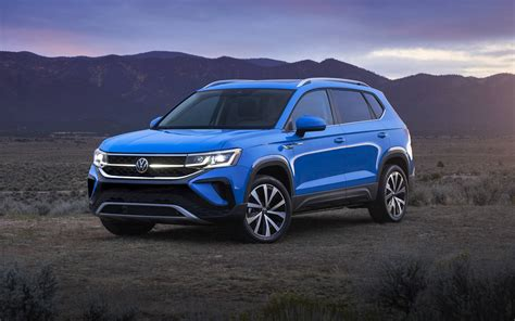All-new 2022 Volkswagen Taos is More Than a Golf ...