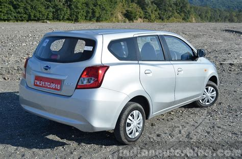 Review Datsun Go by Datsun Go Rear Angle Review
