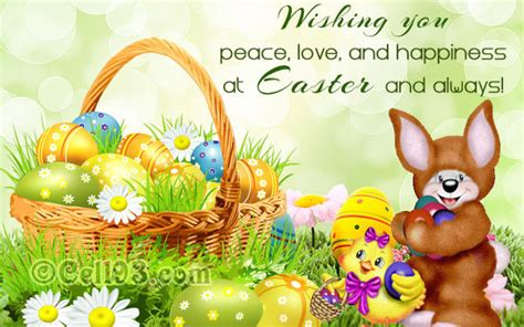 wishing  peace love  happiness  easter
