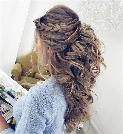 11 gorgeous and elegant half up half down hairstyles