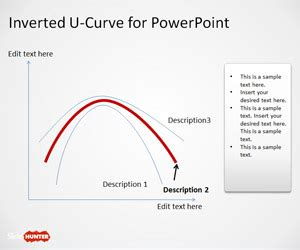 inverted  curve powerpoint template