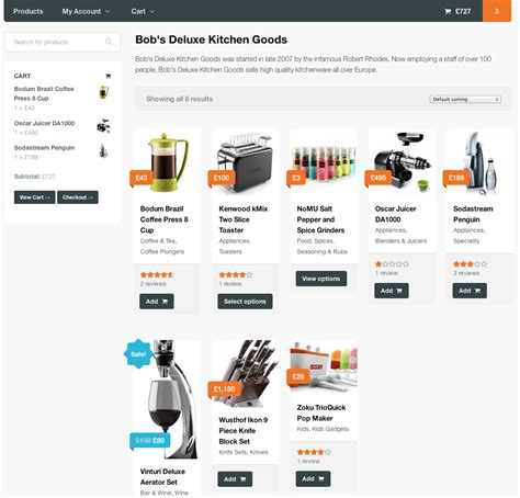 product page product vendors woothemes