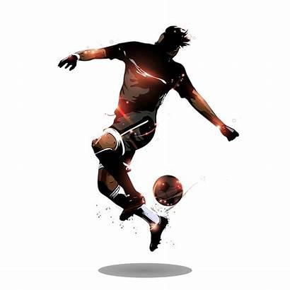 Football Player Soccer Playing Transparent Iptv Institucional
