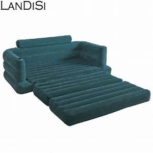 hot saling 2 in 1 multifunction folding air sofa air bed With sofa and bed 2 in 1