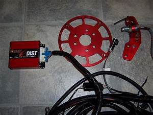 Msd Crank Trigger  Fast E-dist And Wire Harness
