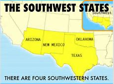 The Southwestern States by Sister Donna
