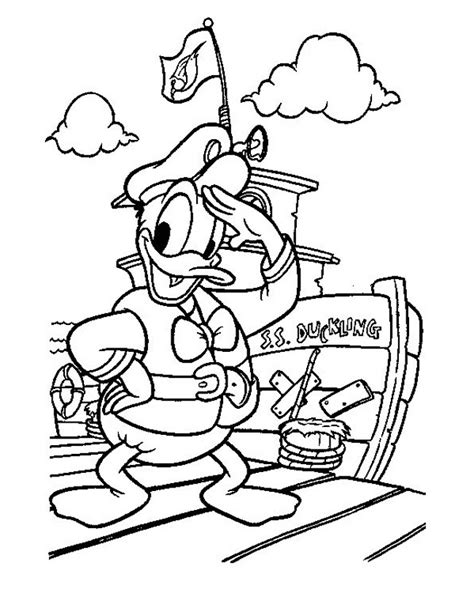 Kleurplaat Ik Ga Naar De Basisschool by Kleuren Nu Donald Duck Gaat Op Reis Kleurplaten