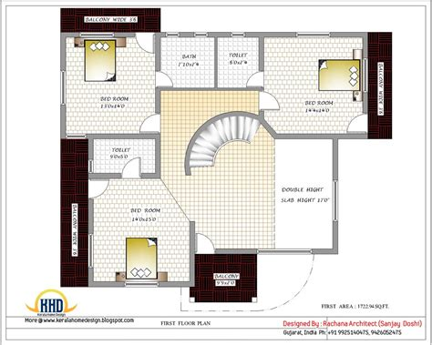 create house floor plan india home design with house plans 3200 sq ft kerala