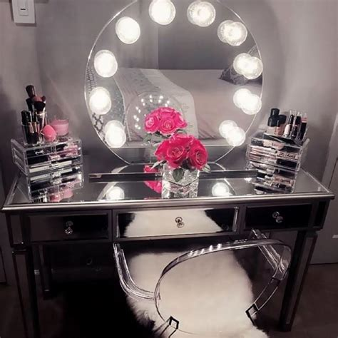 beauty of makeup vanity table with lights makeupjournal com