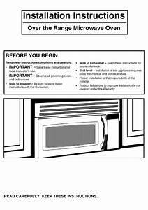 Frigidaire Levm30fe Installation Instructions Manual Pdf