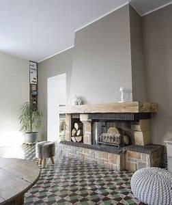 Comment Habiller Une Cheminée Ancienne : renover une cheminee rustique ~ Melissatoandfro.com Idées de Décoration