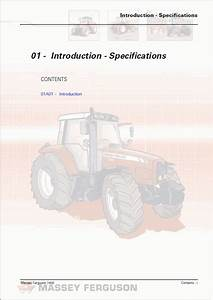 Massey Ferguson 300 series Workshop Manual Printed