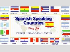 Flag Sets of 21 Spanish Speaking Countries from $2000
