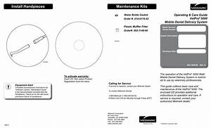 Maintenance Kits Install Handpieces Operating  U0026 Care Guide