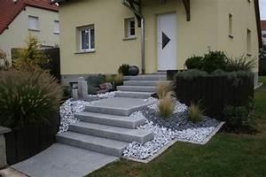amenagement exterieur rosheim molsheim obernai With photo de jardin de maison 13 decoration escalier exterieur
