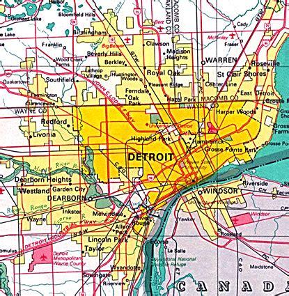 detroit map art magazine