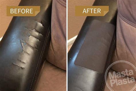 how to fix a leather mastaplasta leather repair kit leather sofa repair