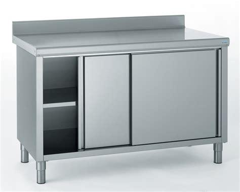 meuble bas cuisine porte coulissante meuble inox cuisine cuisine inox meubles inox mobiles