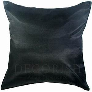 1x silk large decorative throw pillow cover for couch sofa With big accent pillows