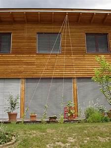 sichtschutz rankgitter mit seilen seite 1 terrasse With französischer balkon mit pergola sichtschutz garten