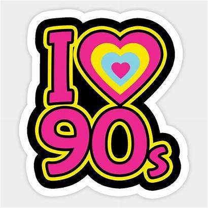 90s 90 1990s Sticker Artwork Teepublic