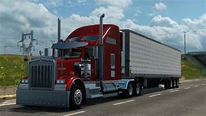 KENWORTH W900 V2.0 Truck -Euro Truck Simulator 2 Mods