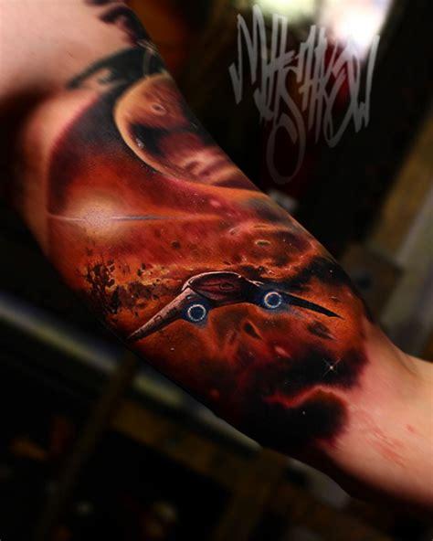 space ship tattoo  tattoo ideas gallery