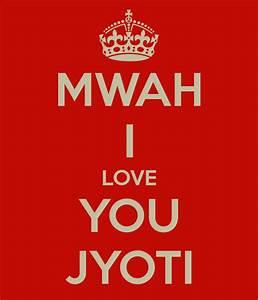 I Love You Jyoti Logo
