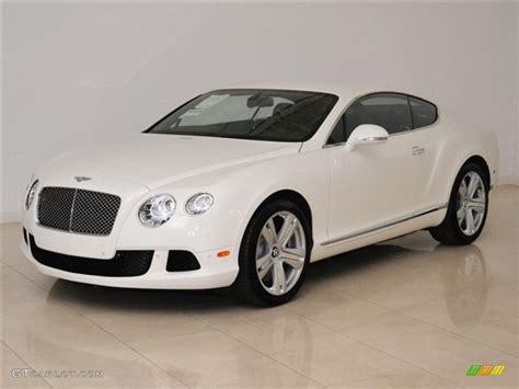 White Bentley by 2012 Glacier White Bentley Continental Gt 53116757