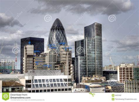 Modern London City Skyline Office Stock Photography