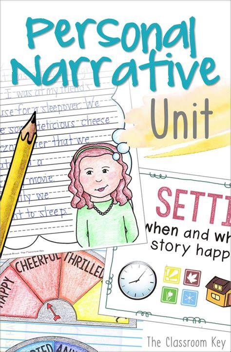 personal narrative writing unit     grade