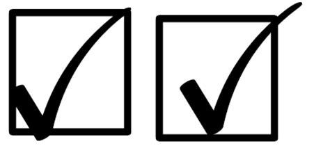Symbols  Creating Boxed Check Mark  Tex  Latex Stack