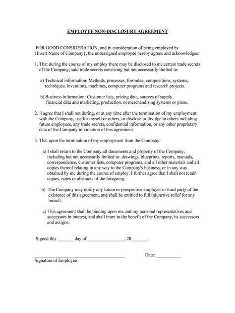 Simple Fixed Term Contract Of Employment Template Pdf - Fill Online, Printable, Fillable, Blank
