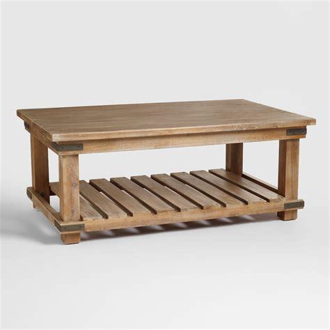 coffee table cameron coffee table world market