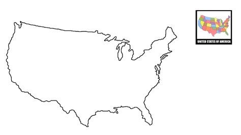 draw map  usa united states map youtube