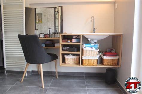 Tuto  Fabriquer Un Meuble Vasque De Salle De Bain Zone