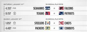 NFL Playoff Schedule 2017: Steelers-Chiefs, Packers ...