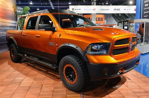 concept work truck new dodge ram shows its trucks are for work and play