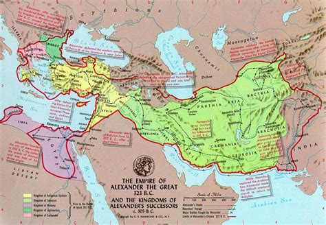 map  alexander  greats conquests    mapporn