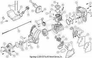 Troy Bilt Tb525ec 41cdz52c766 Parts Diagram For Engine Manual