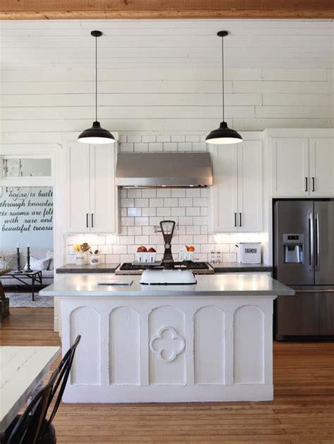 farmhouse kitchen  concrete countertops design ideas