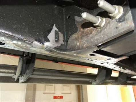 Boat Undercoating by Peeling Paint On Frame Of 2013 Gmc Frame And Gm