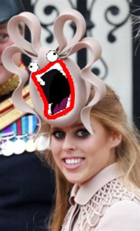 Princess Beatrice Hat Meme - image 122371 princess beatrice royal wedding hat know your meme