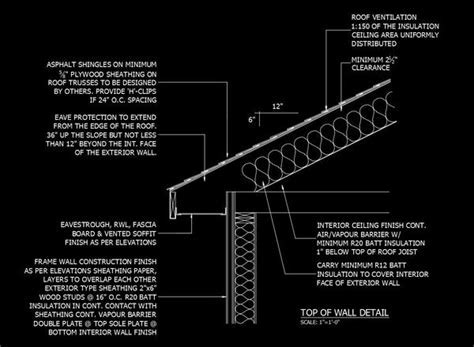 Free CAD Details Top of Wall Detail ? CAD Design   Free