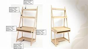 étagère 60 Cm Largeur : meuble bureau etagere meuble d angle informatique lepolyglotte ~ Teatrodelosmanantiales.com Idées de Décoration