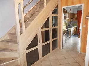 Antidérapant Escalier Bois : escalier sur mesure escalier bois m tal lille arras lens b thune debret escaliers ~ Dallasstarsshop.com Idées de Décoration