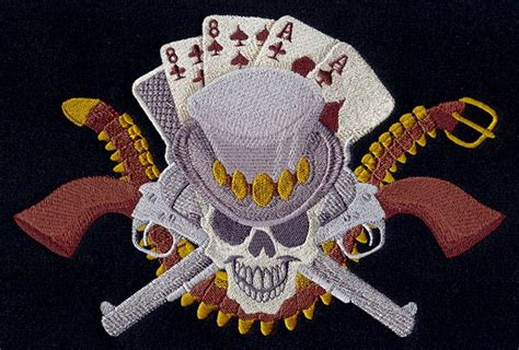 dead mans hand urban threads unique  awesome