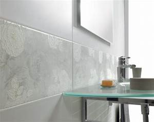 Carrelage Salle De Bain Bricomarché : carrelage salle de bain grand carreaux ~ Melissatoandfro.com Idées de Décoration